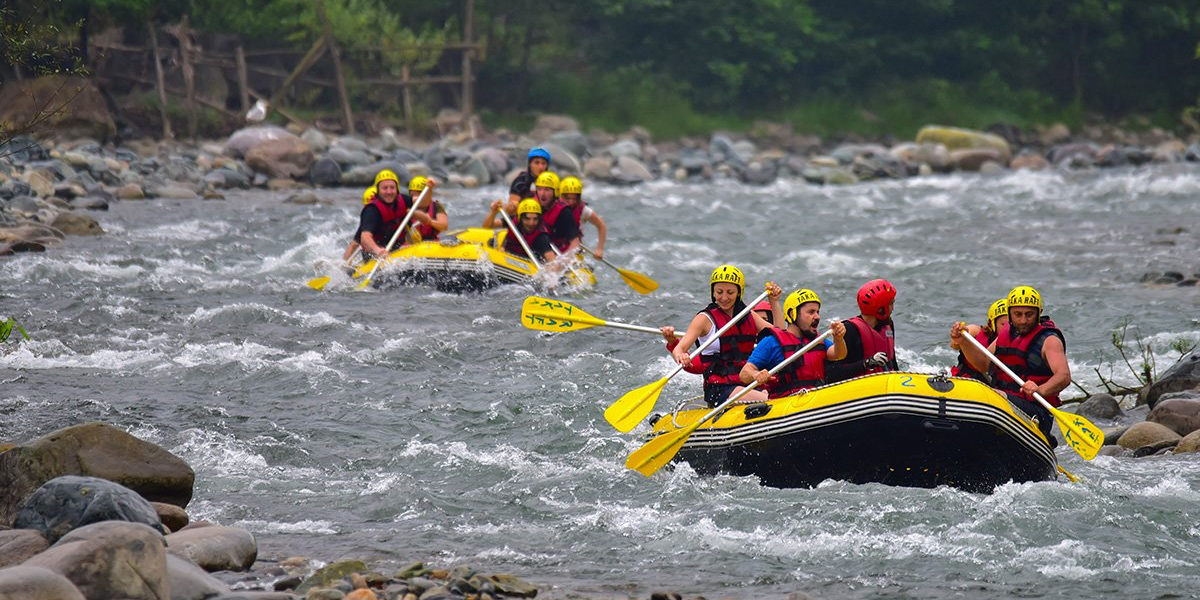 Famous white water rafting places around the world